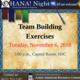 OHANA! Presents Team Building!