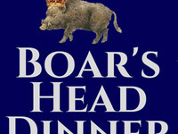 Annual Boar's Head Dinner