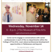 Arts Work: Career Opportunities in the Arts Networking Night