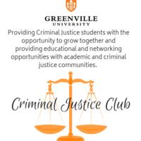 GU Criminal Justice Club Meeting