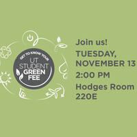 Green Fee November Meeting