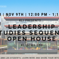Leadership Studies Sequence Open House
