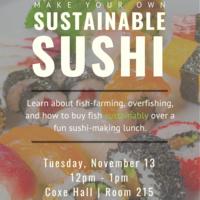 Make Your Own Sustainable Sushi | Sustainability