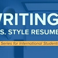 IN PERSON RESUME WORKSHOP/REVIEWS - Career Series for International Students