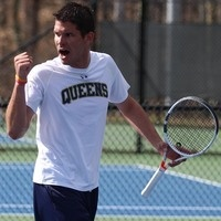 Queens University of Charlotte Men's Tennis vs  #23 Georgia College