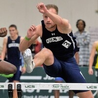 Men's Track hurdler