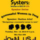 Systers Speaker Series: Successful Women in Tech