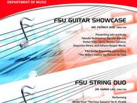 FSU Guitar Showcase & String Duo Recital