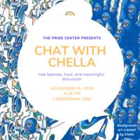Chat with Chella!! | Pride Center