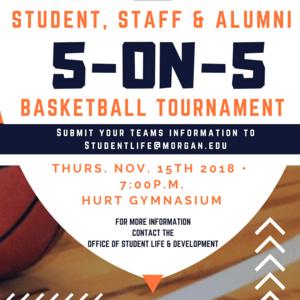 Men's Empowerment Month: 5-on-5 Basketball Tournament
