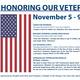 HONORING OUR VETERANS / Veterans Day Appreciation Display