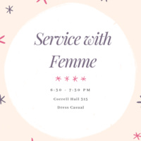 Women in Tech: Femme Service Event
