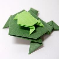 One Richmond One Book Humphrey Family Event Night- Origami Frogs