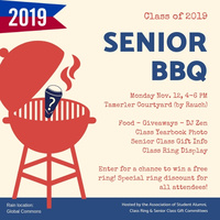 Senior Class BBQ | Association of Student Alumni