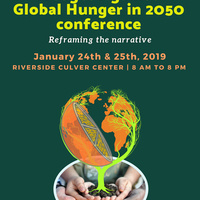 """""""Wedges Against Global Hunger in 2050"""" Conference"""