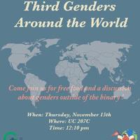 International Week 2018 - Third Genders around the World   Center for Gender Equity & Global Union
