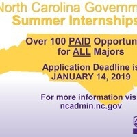 North Carolina Government Internship Program