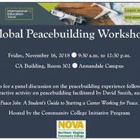 4th Annual Global Peacebuilding Workshop