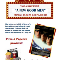"VASO Screens ""A Few Good Men"""