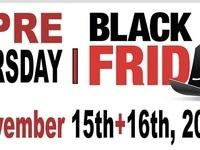 Pre-Black Friday Event