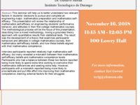ESED Seminar Series