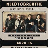 NEEDTOBREATHE: Acoustic Live Tour
