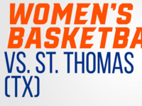 Bearkat Women's Basketball vs. St. Thomas (Texas)
