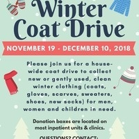 Winter Coat Drive (CUIMC, MSCH, ACN & ALLEN HOSPITAL)