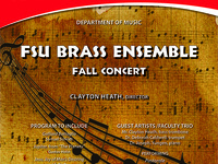 FSU Brass Ensemble Recital