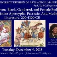 CANCELED --> Arts and Humanities Colloquium:  Clarice Martin