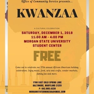 27th Annual Kwanzaa Celebration