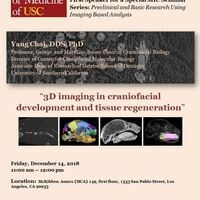 MIC Seminar Series: Preclinical and Basic Research Using Imaging Based Analysis.