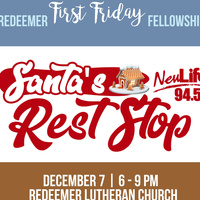Santa's Rest Stop at Redeemer