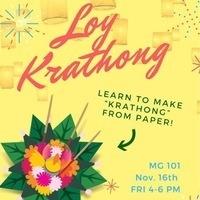 International Week 2018 - Loy Krathong: Make & Take | Global Union