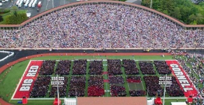 Cornell Graduation 2020.University Commencement Ceremony Cornell