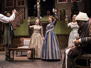 Sit with Us: A Christmas Carol at Chesapeake Shakespeare Company