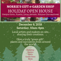 Norrie's Gift & Garden Shop Holiday Open House!