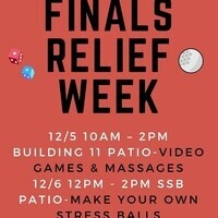 Finals Relief Week