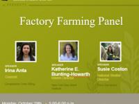 Factory Farming Panel