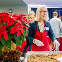 Staff Appreciation Holiday Breakfast - Parnassus