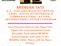 Brendan Tate - Talk on Wildlife Conservation