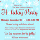 West Tisbury Library's Annual Holiday Party