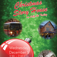 Christmas Story House on Lolly the Trolley