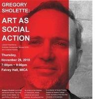 Gregory Sholette: Art as Social Action
