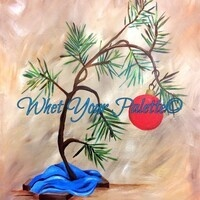 "Whet Your Palette ""Charile Brown's Christmas Tree"""