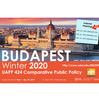Study Abroad Interest Meeting - 20W Budapest, Hungary - UAPP