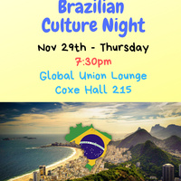 Brazilian Culture Night | Global Union
