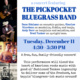 Concert: Pickpocket Bluegrass Band
