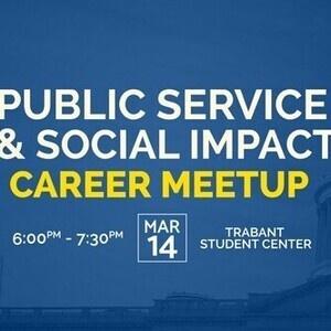 Public Service and Social Impact Career Meetup