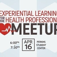 Experiential Learning for the Health Professions Meetup